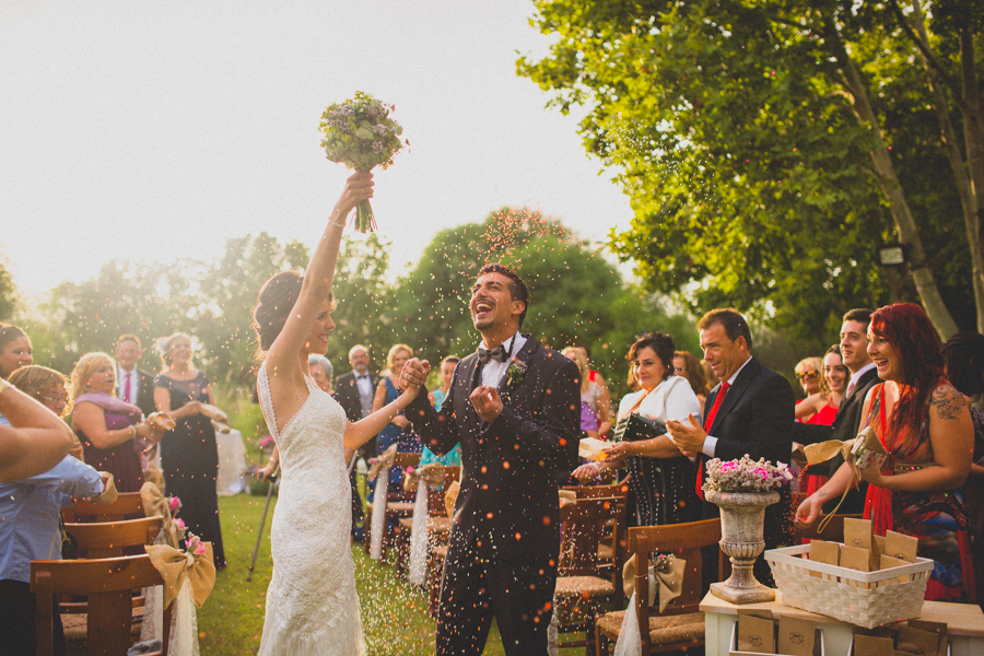 arroz y confeti para bodas