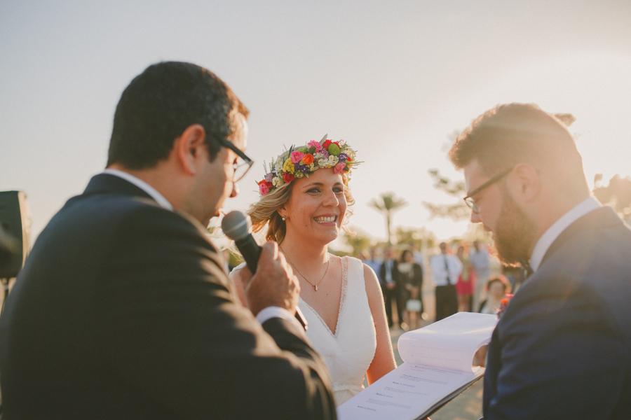 boda en el mar menor
