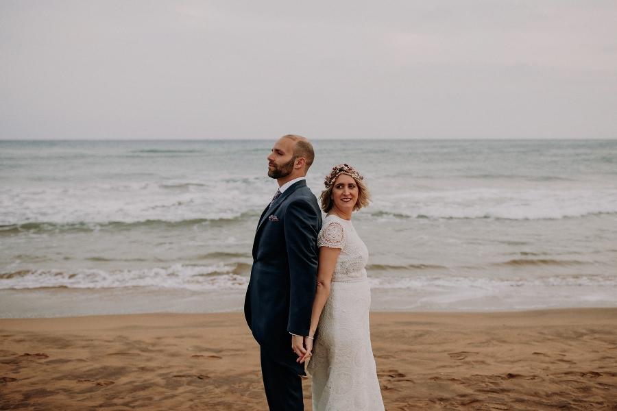 Sesion de fotos en la playa Murcia